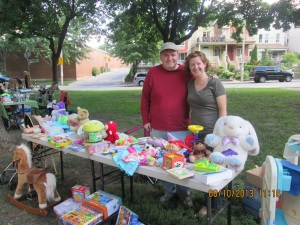 Block Party 2013- Neighbourhood Sale