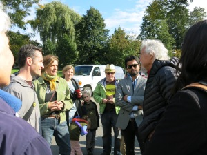 David Suzuki at Roxton Road parkette